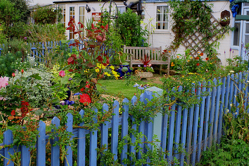 garden - improve your feng shui