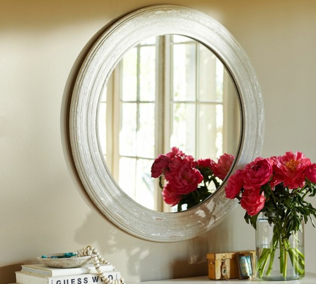 jenny blume feng shui - mirror with flowers