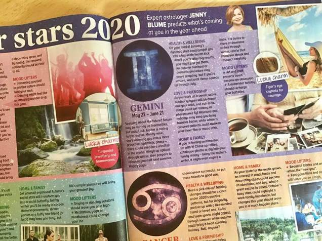 Astrology forecasts 2020 Jenny Blume